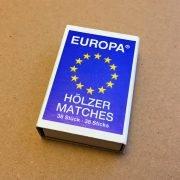 EUROPA Streichholzschachtel