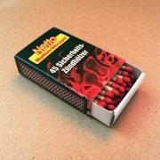 NETTO Streichholzschachtel mit 45 Stück Inhalt