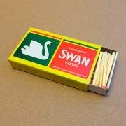 Swan-Vestas Streichholzschachtel aus Grossbritannien
