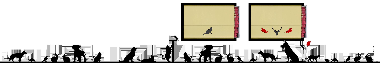 """Streichholzschachtel-Hülle """"Katze"""" und """"Hirsch+"""" aus Messing"""